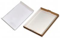 Kagemandsæske hvid stabelbar 600x452x113mm