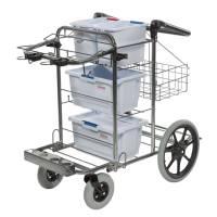 Facility vogn, Vileda, 58cm x 1m, stål, fugt, til udendørs brug *Denne vare tages ikke retur*