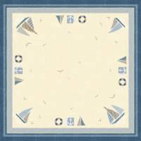 Stikdug, Dunicel Seaway, 84x84cm, blå *Denne vare tages ikke retur*