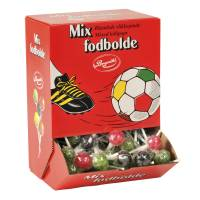 Slikkepind, Fodbold Mix *Denne vare tages ikke retur*