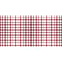 Stikdug, Dunicel Giovanni, 84x84cm, rød, ternet *Denne vare tages ikke retur*