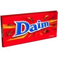 Chokolade, Daim XL, 20 stk, 3-pak *Denne vare tages ikke retur*