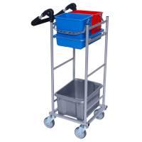 Rengøringsvogn, Tina Trolleys ERGO Kompakt, model 1 *Denne vare tages ikke retur*
