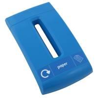Låg, Enviro, blå, med sliske, til papir *Denne vare tages ikke retur*