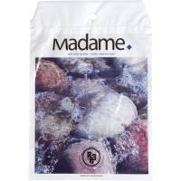 Madamepose, 5 l, hvid, LDPE/RE3, vand- og stenmotiv, 24,5x35cm, med huller til holder