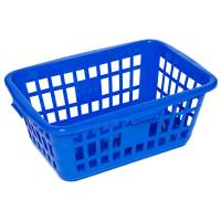 Plastkurv, 68x47x26cm, 55 l, blå, plast *Denne vare tages ikke retur*