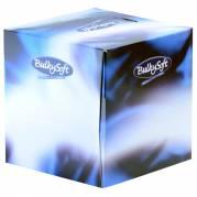 Ansigtsservietter, Bulkysoft, 3-lags, 21x21cm, hvid, 100% nyfiber