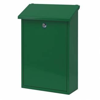 Postkasse, Toledon, 12x27x40cm, grøn *Denne vare tages ikke retur*
