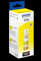 114 EcoTank Yellow Ink bottle