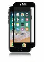 Panzerglas iPhone 8/7/6S Full-Fit glas sort