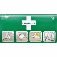 Forbinding Cederroth 4-in-1 1 kompresbind/2 bandager