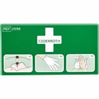 Beskyttelsespakke Cederroth 2596 maske/handsker/håndrens
