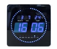 Ur Unilux FLO-Clock LED tid/dato/temperatur