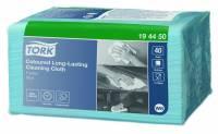 Allround klud Tork Premium W8 Small Pack blå 30x38cm 40stk