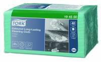 Allround klud Tork Premium W8 Small Pack grøn 30x38cm 40stk