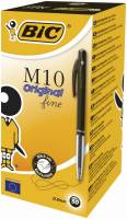 Kuglepen Bic Clic sort Fine M10 51630