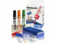 Whiteboard kit Pilot 5 penne, holder, visker