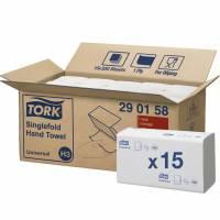 Papirhåndklæd Tork Universal H3 1-lag Z-fold 290158 4500stk/ka