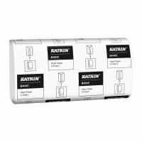 Papirhåndklæde Katrin Basic C-Fold 2-lags 33cm 3000ark/kar