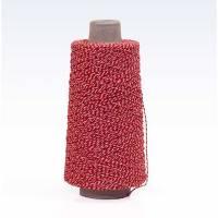 Bomuldsgarn rød/hvid 0,9mmx450m