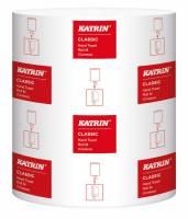 Aftørringspapir Katrin C - M 1-la 20,5cmx320m 6rl/k 448311