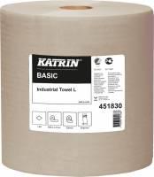 Aftørringspapir Katrin Basic 1-lag 27cmx564m 45183 2rul/kar