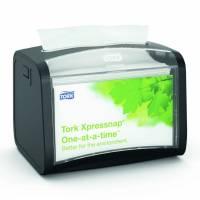 Dispenser bordservietter Tork sort/klar N4 t/IF servietter