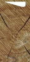Sacchetto tissue 8,5x20cm wood 500stk/kar