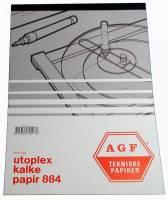 Kalkerpapirblok Utoplex A4 90g 90gr 50ark/stk 884