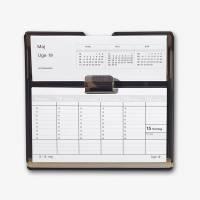 Kalenderstativ Flip-A-Week 20x19cm røgfarvet 3664 00