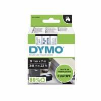 Labeltape DYMO D1 40914 S0720690 9mmx7m blå på hvid