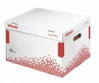 Opbevaringskasse Esselte Speedbox t/5 75mm brevordnere
