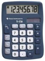 Lommeregner Texas TI 1726 skråtstillet 8-cifret display