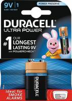 Batteri Duracell Ultra Power 9V 1stk/pak