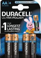 Batteri Duracell Ultra Power AA 4stk/pak