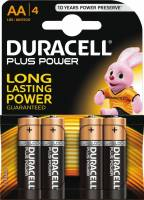 Batteri Duracell Plus Power AA 4stk/pak