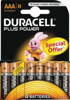 Batteri Duracell Plus Power AAA 8stk/pak