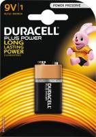 Batteri Duracell Plus Power 9V 1stk/pak