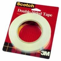 Tape dobbeltklæbende klar 12,7mmx32,9m 665