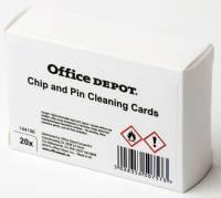 Rensekort Office DEPOT Chip og magnet 20stk/pk
