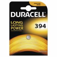 Batteri Duracell 394 1,5V Silver Oxide 1stk/pak