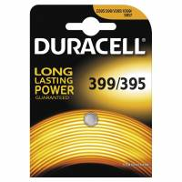Batteri Duracell 399/395 1,5V Silver Oxide 1stk/pak