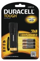 Lommelygte Duracell Though CMP9 LED incl. 3 AAA batterier