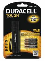 Lommelygte Duracell Though CMP10C LED incl. 3 AAA batt.