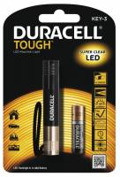 Lommelygte Duracell Though KEY-3 LED incl. 1 AAA batteri