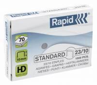 Hæfteklammer galv. 23/10 Rapid standard 1000stk/pak