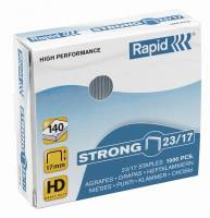 Hæfteklammer galv. 23/15 Rapid strong 1000stk/pak