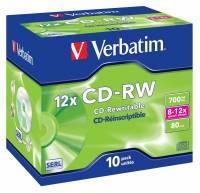 CD-RW DataLifePlus 8-12X  High Speed(10)