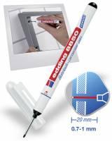 Carpenter pen Edding 8850 sort 0,7-1mm