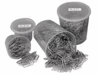Clips Esselte 25mm i plastdåse 1000stk/pak 30710